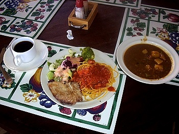 Flamenco Villas Buffet Meal